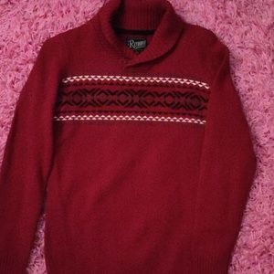 Beautiful holiday sweater for boy